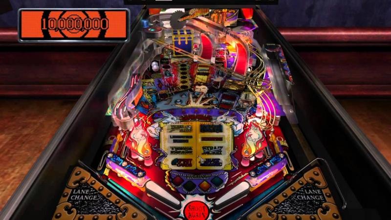 Pinball Arcade : theatre of magic Theatr10