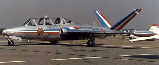 Fouga Magister CM170 Patrouille de France 1965 Patrou11