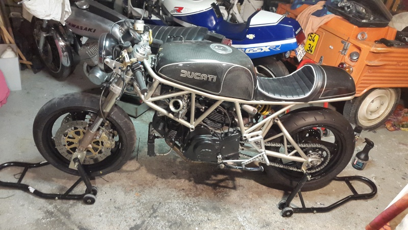 Ducati 750 SS Cafe Racer - Page 36 20150410