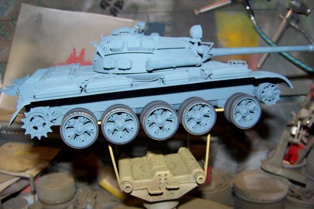 T-55A 1/35 Tamiya fini 100_9249