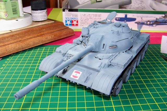 T-55A 1/35 Tamiya fini 100_9410