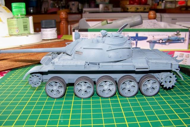 T-55A 1/35 Tamiya fini 100_9411