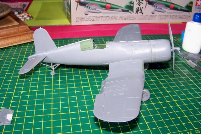 F4U-1 A Corsair Tamiya 1/48 oui mais un All Black ! fini 100_9435