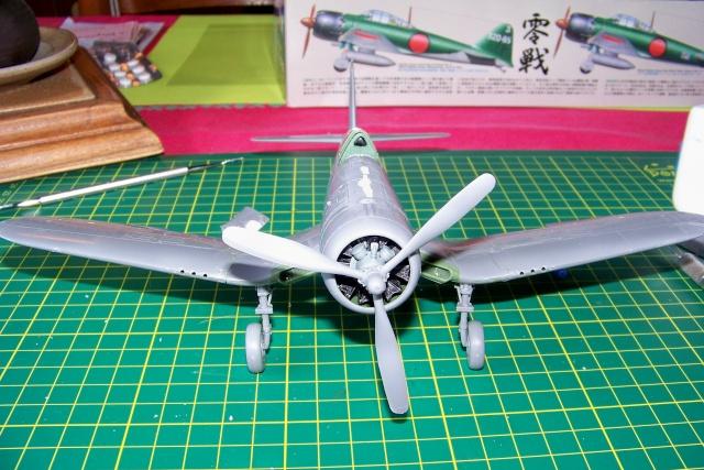 F4U-1 A Corsair Tamiya 1/48 oui mais un All Black ! fini 100_9436