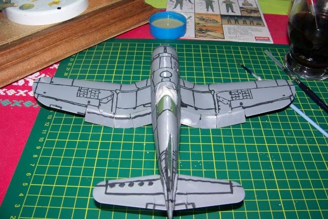 F4U-1 A Corsair Tamiya 1/48 oui mais un All Black ! fini 100_9448