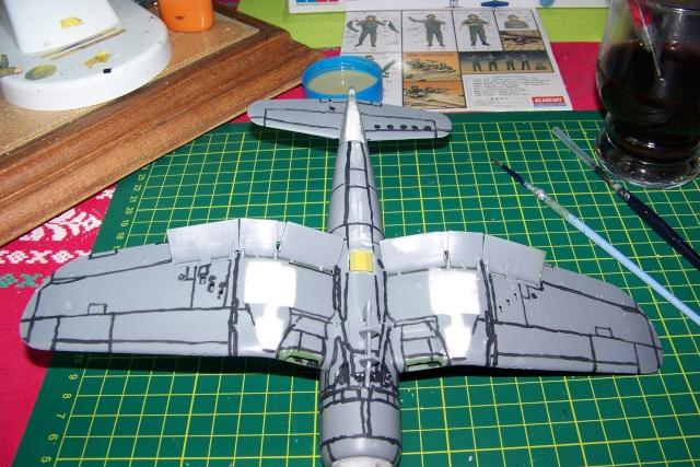 F4U-1 A Corsair Tamiya 1/48 oui mais un All Black ! fini 100_9449