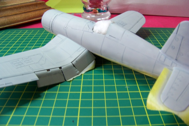 F4U-1 A Corsair Tamiya 1/48 oui mais un All Black ! fini 100_9453