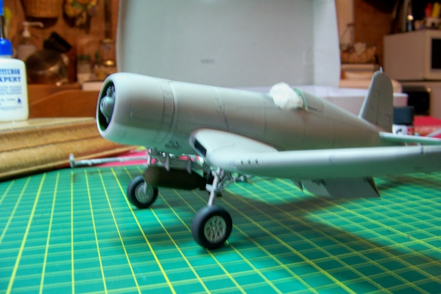 F4U-1 A Corsair Tamiya 1/48 oui mais un All Black ! fini 100_9456