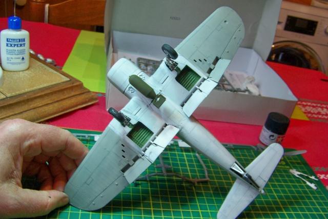 F4U-1 A Corsair Tamiya 1/48 oui mais un All Black ! fini 100_9457
