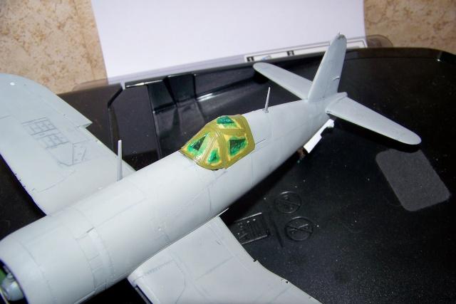 F4U-1 A Corsair Tamiya 1/48 oui mais un All Black ! fini 100_9469