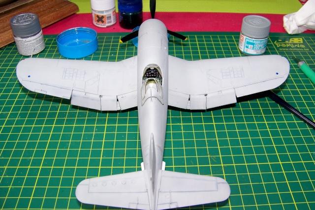 F4U-1 A Corsair Tamiya 1/48 oui mais un All Black ! fini 100_9471