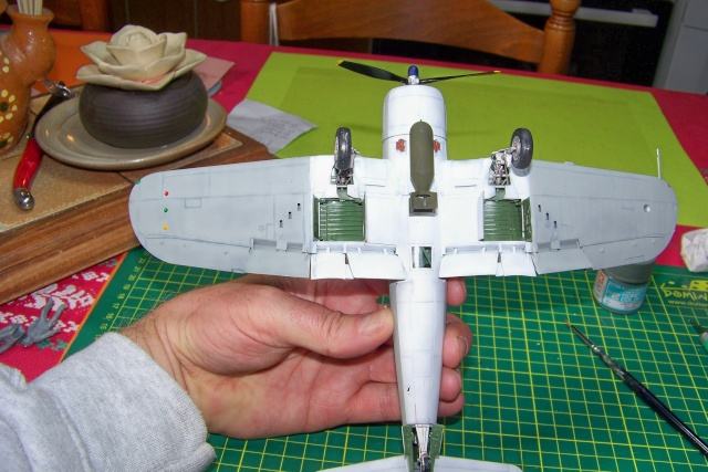 F4U-1 A Corsair Tamiya 1/48 oui mais un All Black ! fini 100_9510