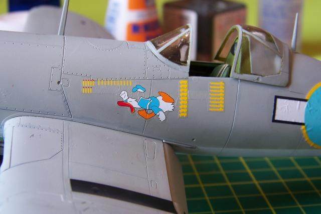 F4U-1 A Corsair Tamiya 1/48 oui mais un All Black ! fini 100_9514