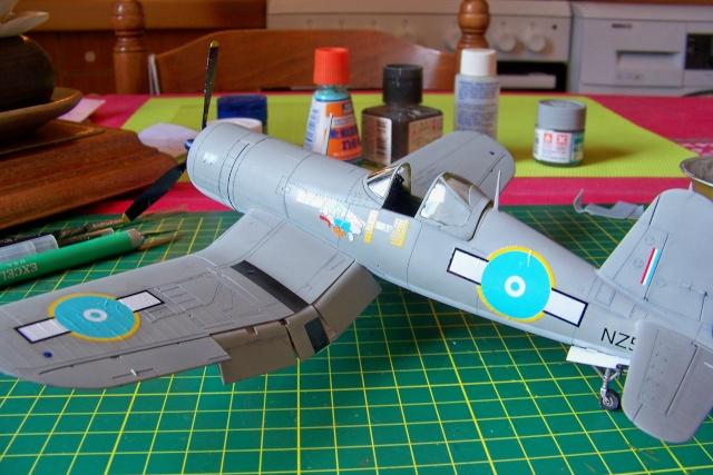 F4U-1 A Corsair Tamiya 1/48 oui mais un All Black ! fini 100_9515