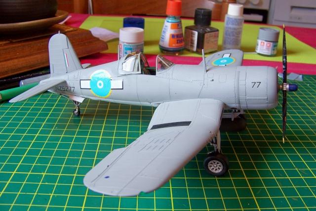 F4U-1 A Corsair Tamiya 1/48 oui mais un All Black ! fini 100_9517
