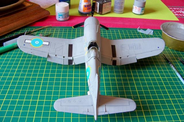 F4U-1 A Corsair Tamiya 1/48 oui mais un All Black ! fini 100_9518
