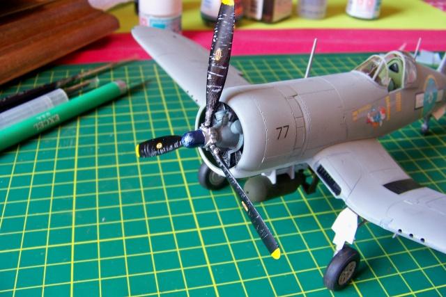 F4U-1 A Corsair Tamiya 1/48 oui mais un All Black ! fini 100_9519