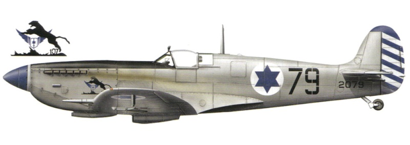 [Hobby Craft] Seafire XV Supermarine rénové en Spitfire MkIX Israeli Air Force 1949 89_15_10