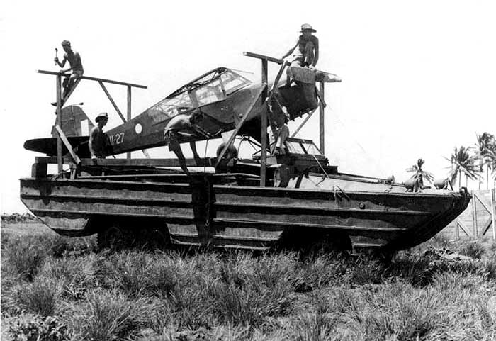 DUKW, Korea circa early 1951 Auster10