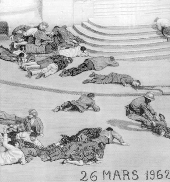 Alger rue d'Isly le 26 mars 1962 : des Français tombent sous des balles françaises ! 26_mar10