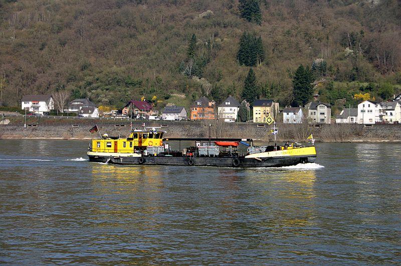 Kleiner Rheinbummel am 10.04.15 in Andernach und Mondorf 10a10