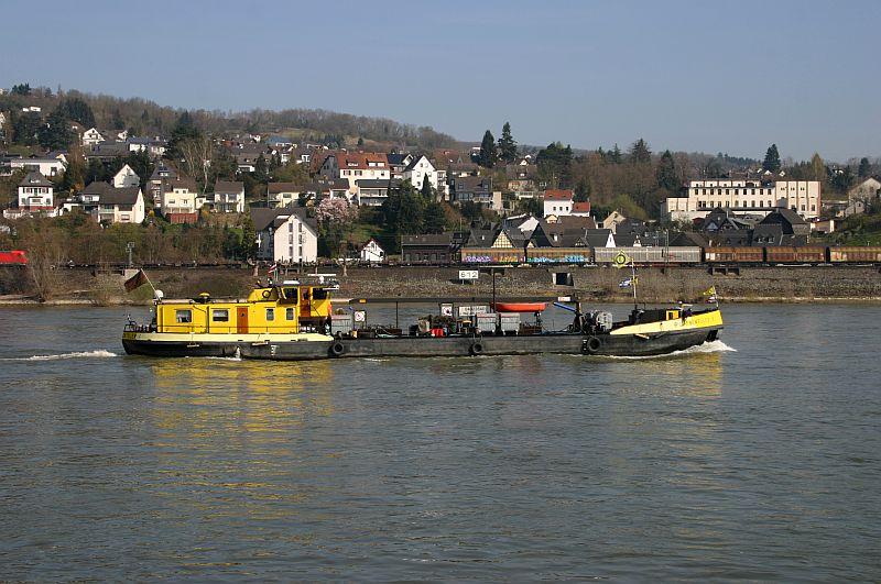 Kleiner Rheinbummel am 10.04.15 in Andernach und Mondorf 10c10