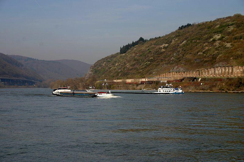 Kleiner Rheinbummel am 10.04.15 in Andernach und Mondorf 1111