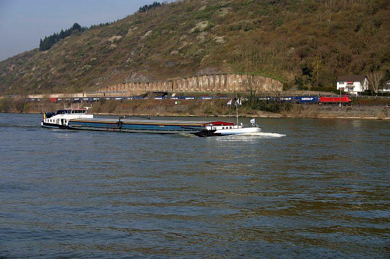 Kleiner Rheinbummel am 10.04.15 in Andernach und Mondorf 11a10