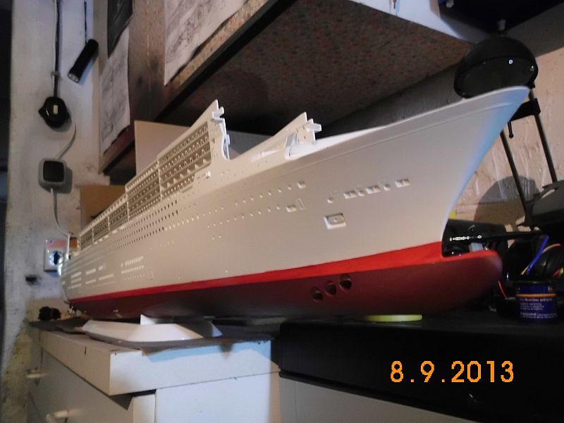 Revell 05223 - Queen Mary 2 1/400 (Weiter-) Baubericht - Fertig 126