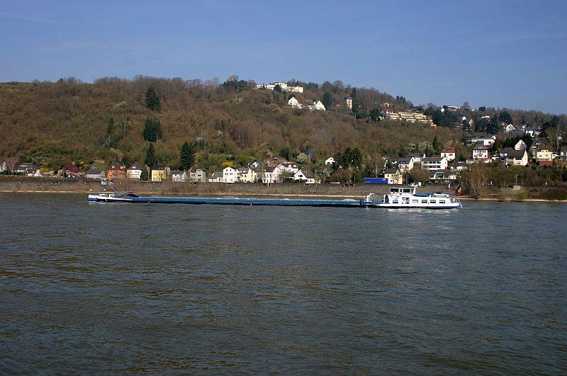 Kleiner Rheinbummel am 10.04.15 in Andernach und Mondorf 12a10
