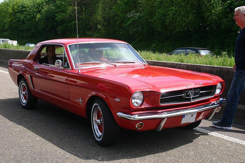 """Ford Mustang 289 - auf dem Parkplatz """"schnappgeschossen"""" 1965 158"""