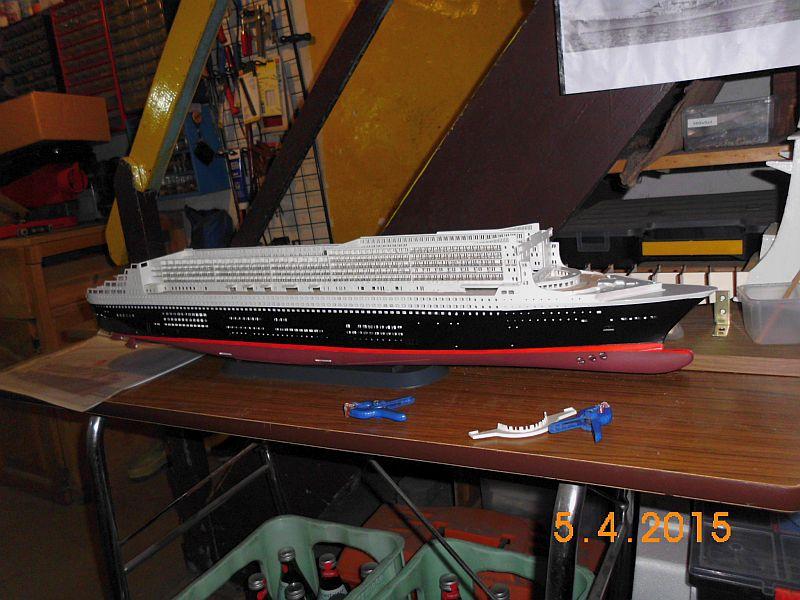 Revell 05223 - Queen Mary 2 1/400 (Weiter-) Baubericht - Fertig 1610