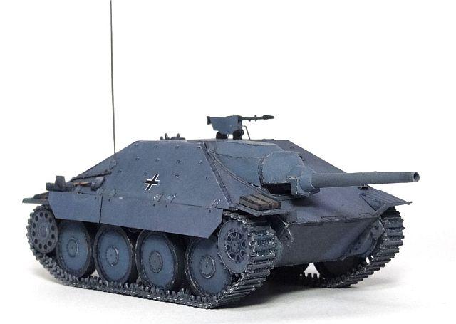 I-Cardtanks - Jadgpanzer38(t) Hetzer in 1/50 - kostenloser Download 170