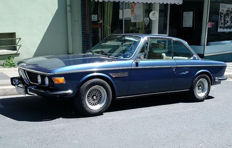 """BMW 3,0 CSl 1972 - auf dem Parkplatz """"schnappgeschossen"""" 174"""