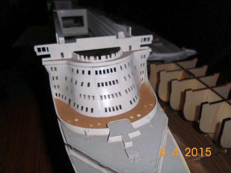 Revell 05223 - Queen Mary 2 1/400 (Weiter-) Baubericht - Fertig 1810