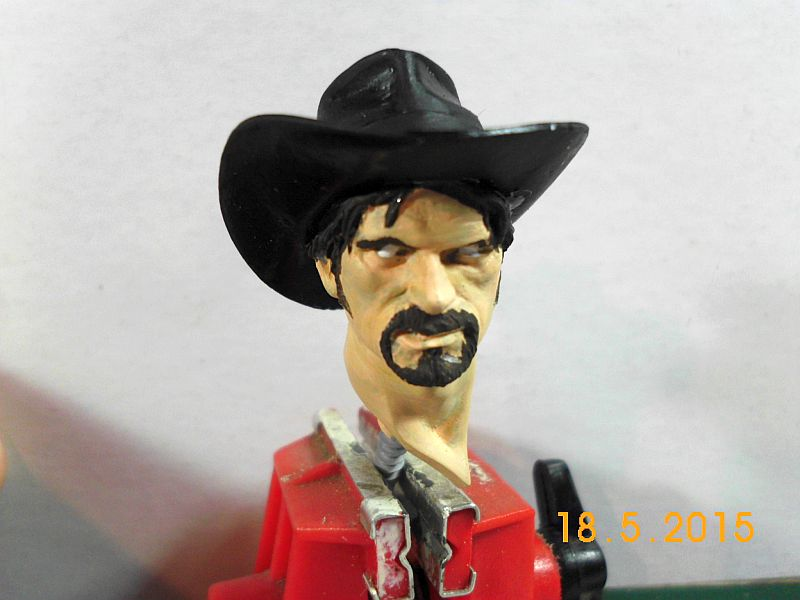 "Young Miniatures YH 1835 ""Wild West"" - Resin Büste 1/10 - Fertig 250"