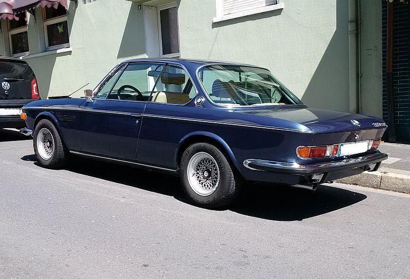 """BMW 3,0 CSl 1972 - auf dem Parkplatz """"schnappgeschossen"""" 252"""