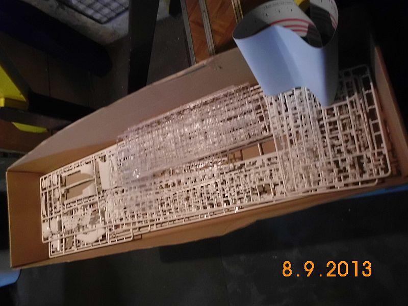Revell 05223 - Queen Mary 2 1/400 (Weiter-) Baubericht - Fertig 315