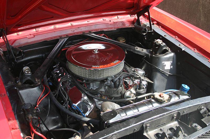 """Ford Mustang 289 - auf dem Parkplatz """"schnappgeschossen"""" 1965 331"""