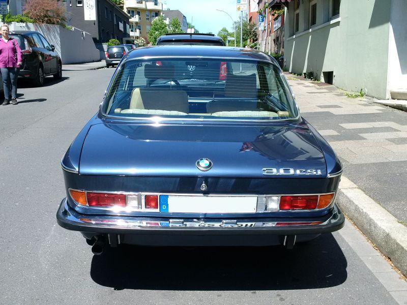"""BMW 3,0 CSl 1972 - auf dem Parkplatz """"schnappgeschossen"""" 337"""