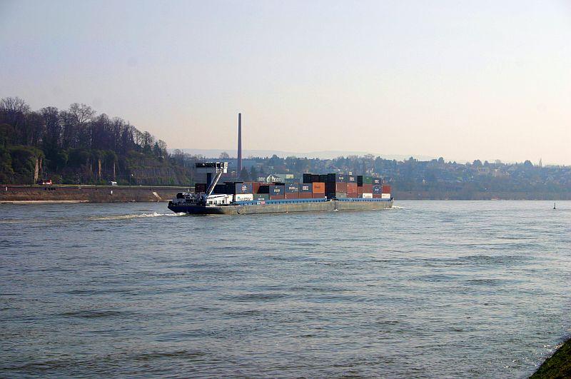 Kleiner Rheinbummel am 10.04.15 in Andernach und Mondorf 4d10