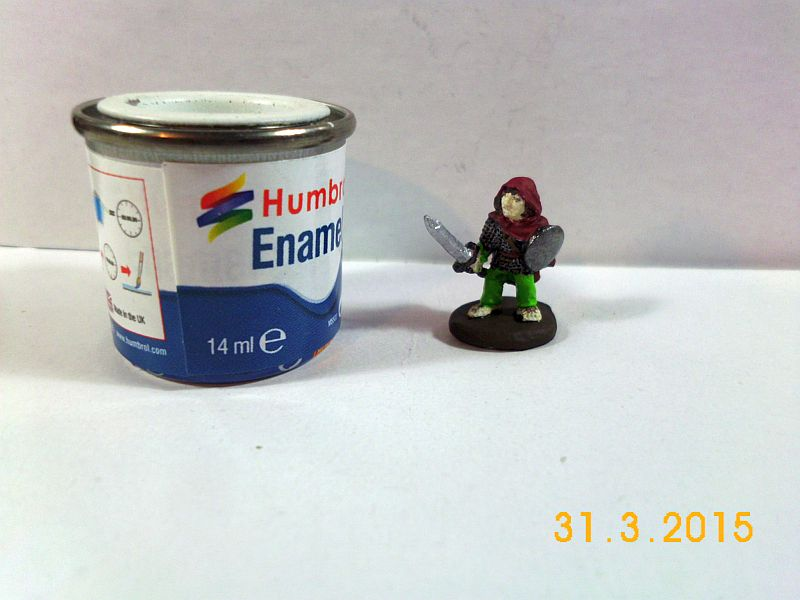 Grenadier Models 28mm Zinn - Hobbit 514