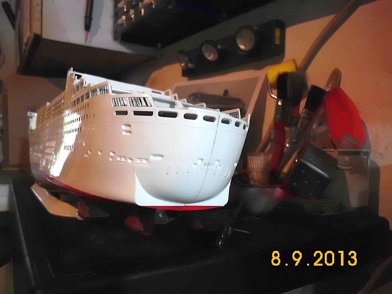 Revell 05223 - Queen Mary 2 1/400 (Weiter-) Baubericht - Fertig 515