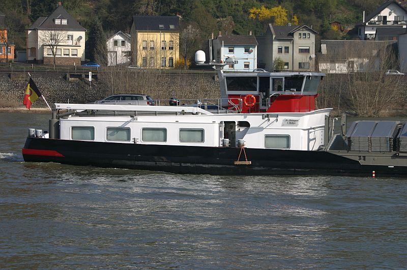 Kleiner Rheinbummel am 10.04.15 in Andernach und Mondorf 7a11