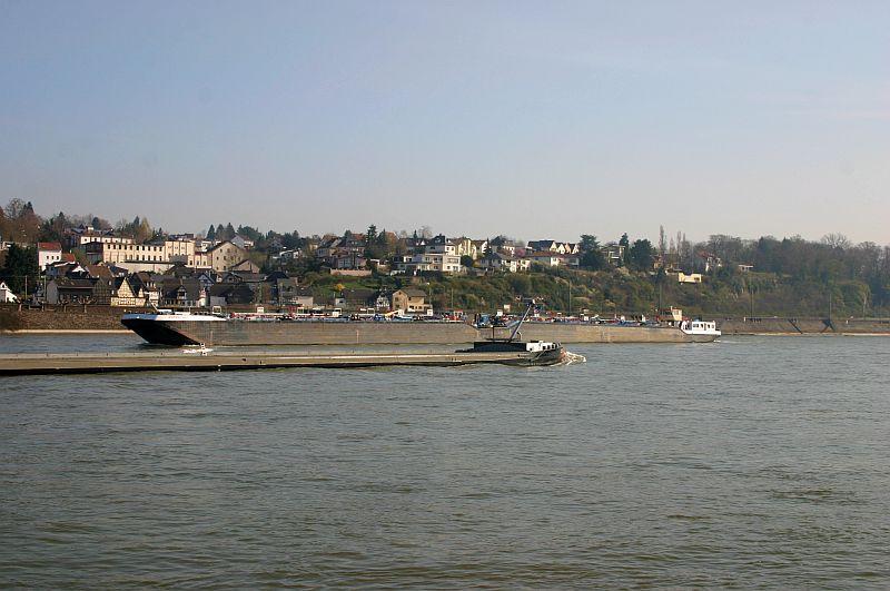 Kleiner Rheinbummel am 10.04.15 in Andernach und Mondorf 7b11