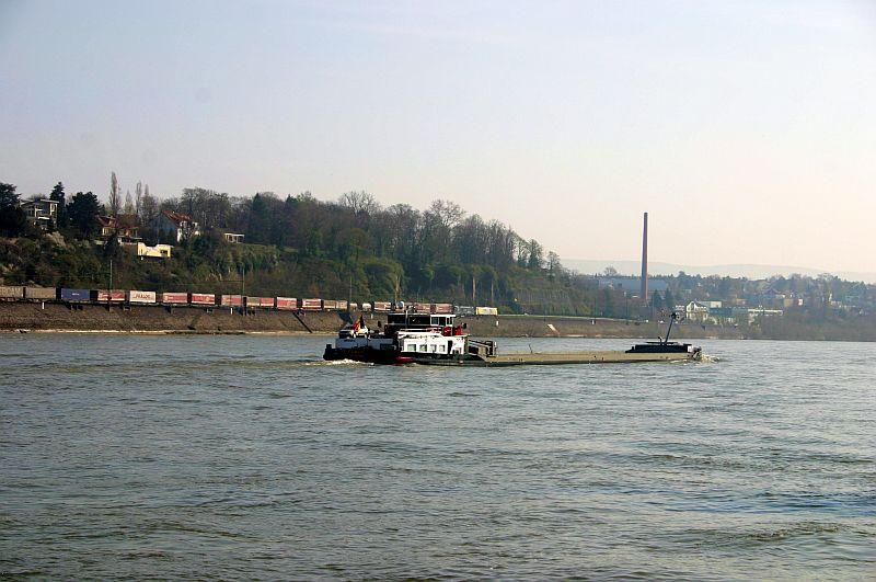 Kleiner Rheinbummel am 10.04.15 in Andernach und Mondorf 7c10