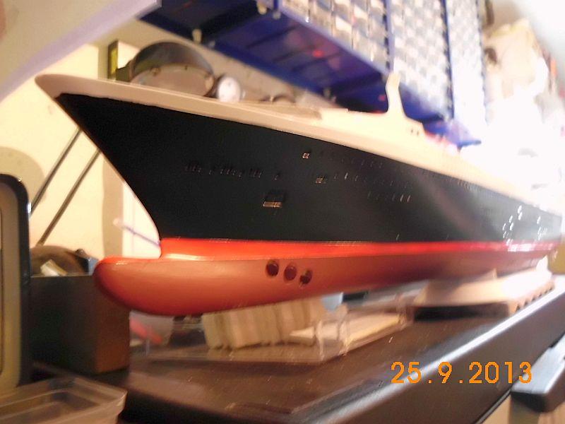 Revell 05223 - Queen Mary 2 1/400 (Weiter-) Baubericht - Fertig 811