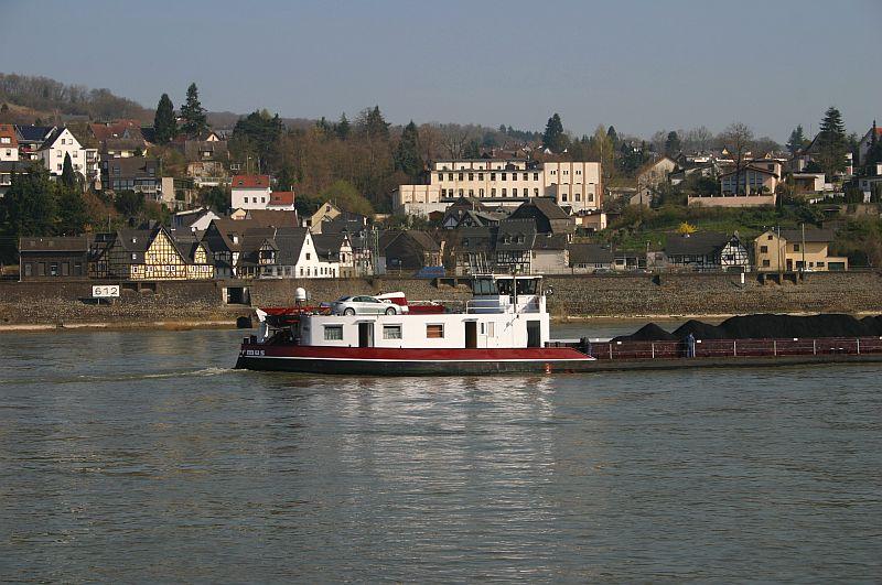 Kleiner Rheinbummel am 10.04.15 in Andernach und Mondorf 9b10