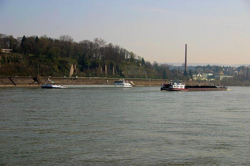 Kleiner Rheinbummel am 10.04.15 in Andernach und Mondorf 9c10