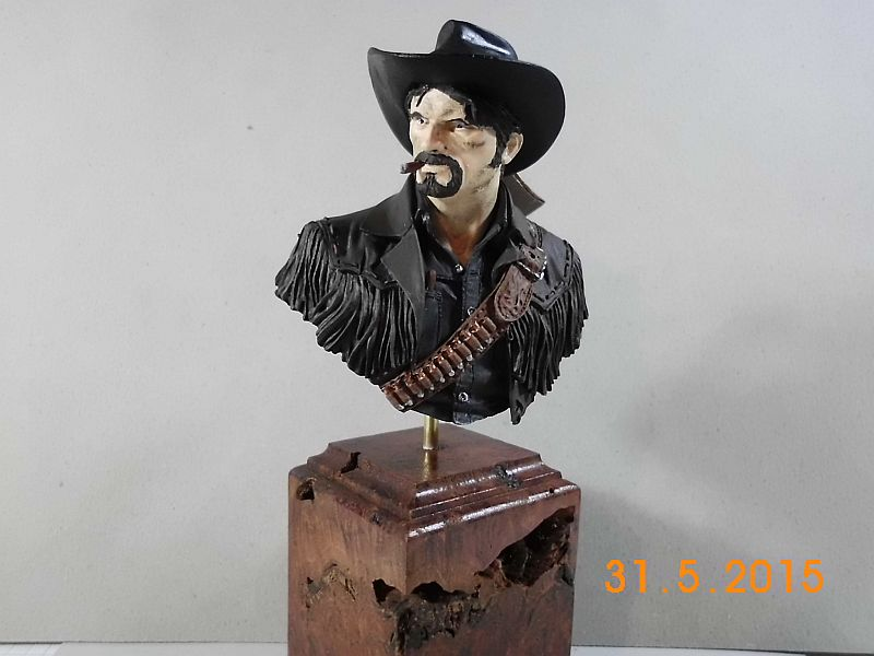 "Young Miniatures YH 1835 ""Wild West"" - Resin Büste 1/10 - Fertig A11"